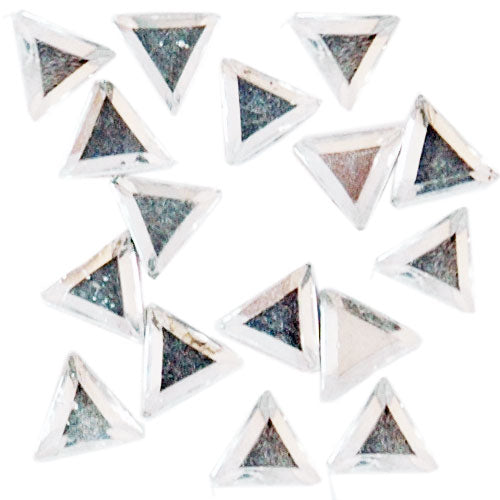 Shaped Rhinestones - Triangle 6x6mm - Threadart.com