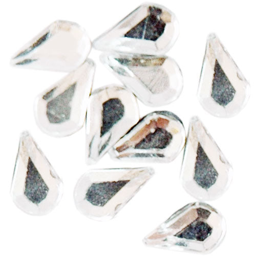 Shaped Rhinestones - Water Drop 5x8mm - Threadart.com