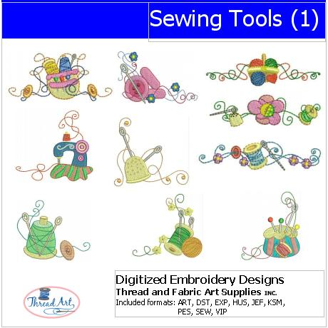 Machine Embroidery Designs - Sewing Tools(1) - Threadart.com