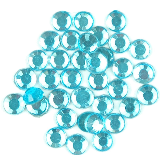 Hot Fix Rhinestones - SS6 - Sky Blue - 1440 stones - Threadart.com