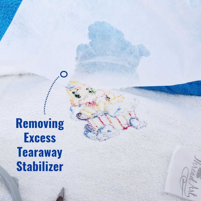 Heavy Tearaway Embroidery Backing Stabilizer - 10 inch 50 yd roll - Threadart.com