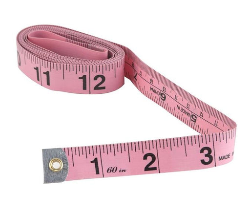 Soft Flexible Pink Tape Measure - Threadart.com