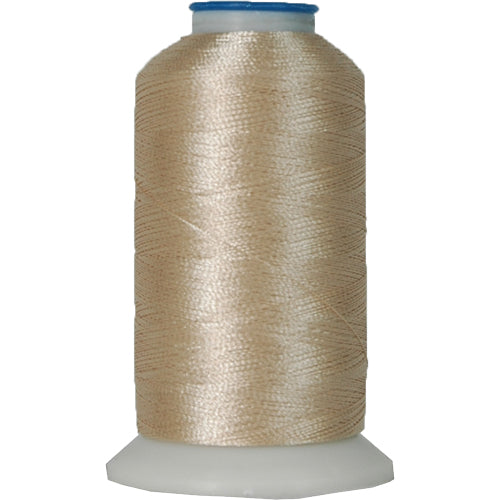 Polyester Embroidery Thread No. 104 - Natural- 1000M - Threadart.com