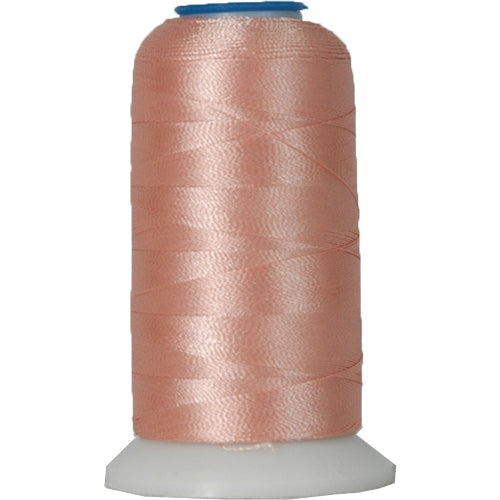 Rayon Thread No. 107 - Lt. Coral - 1000M - Threadart.com
