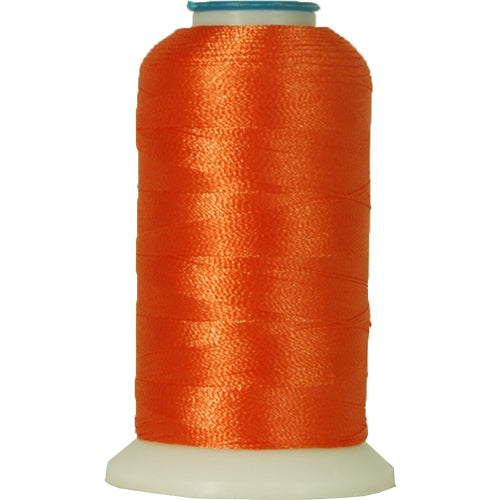 Polyester Embroidery Thread No. 112 - Texas Orange - 1000M - Threadart.com