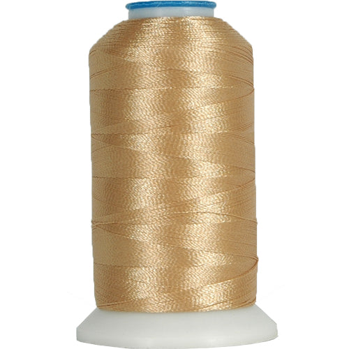 Polyester Embroidery Thread No. 120 - Lt Beige- 1000M - Threadart.com