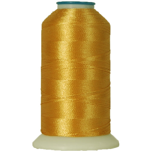 Rayon Thread No. 121 - Lt Gold - 1000M - Threadart.com