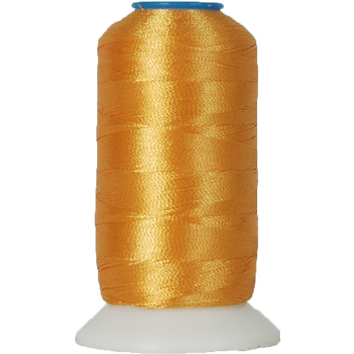Polyester Embroidery Thread No. 124 - Old Gold - 1000M - Threadart.com
