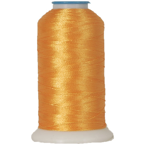 Polyester Embroidery Thread No. 125 - Spark Gold - 1000M - Threadart.com