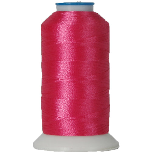 Polyester Embroidery Thread No. 130 - Dark Pink - 1000M