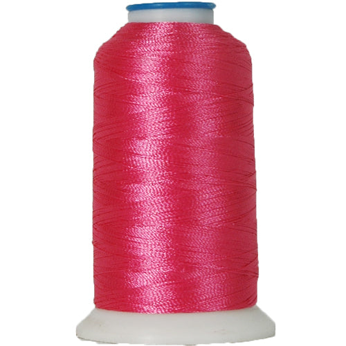 Polyester Embroidery Thread No. 132 - Berry Pink - 1000M - Threadart.com