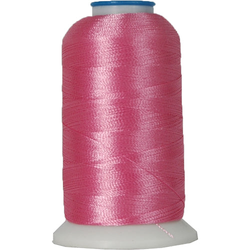 Polyester Embroidery Thread No. 136 - Bright Pink - 1000M - Threadart.com
