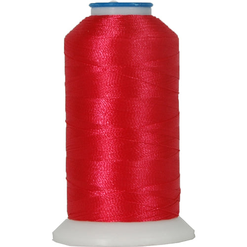 Rayon Thread No. 147 -Deep Coral - 1000M - Threadart.com
