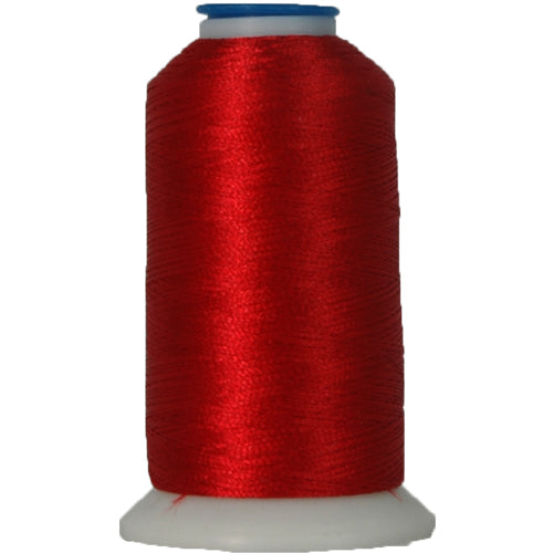 Polyester Embroidery Thread No. 148 - Christmas Red - 1000M - Threadart.com