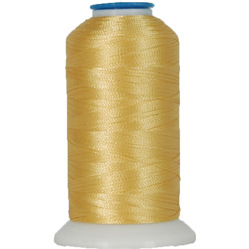 Polyester Embroidery Thread No. 159 - Soft Gold - 1000M - Threadart.com