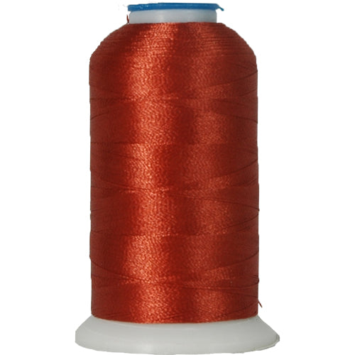 Polyester Embroidery Thread No. 171 - Terra Cotta - 1000M - Threadart.com