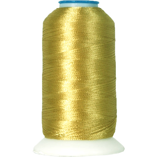 Polyester Embroidery Thread No. 174 - Lt. Yellow Green - 1000M - Threadart.com