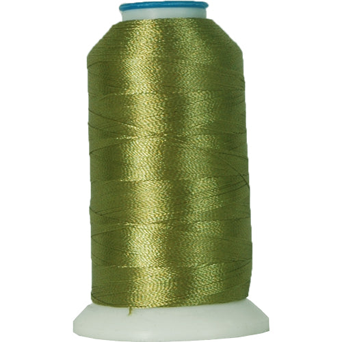 Polyester Embroidery Thread No. 180 - Sage Green - 1000M - Threadart.com