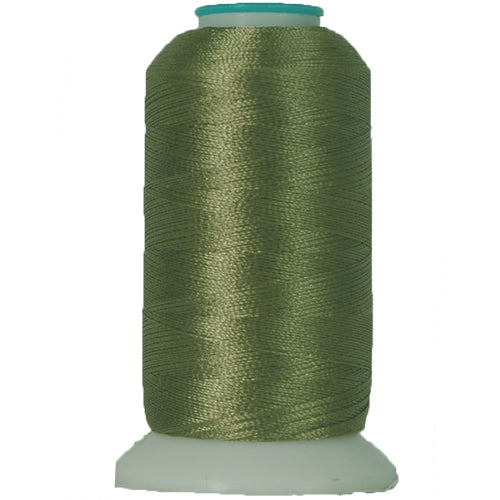 Polyester Embroidery Thread No. 181 - Palm Green - 1000M - Threadart.com