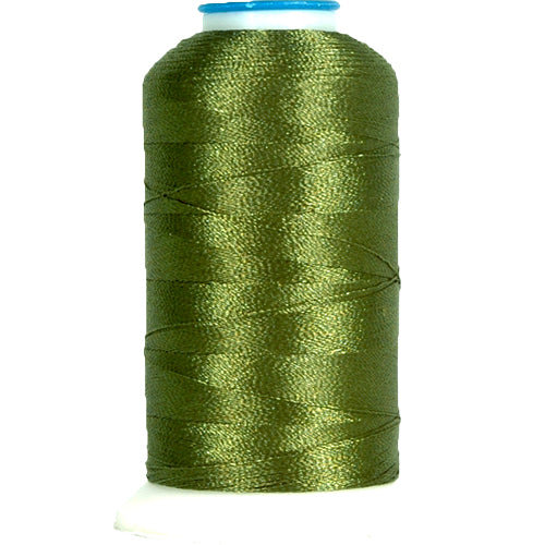 Polyester Embroidery Thread No. 182 - Dk. Sage Green - 1000M - Threadart.com