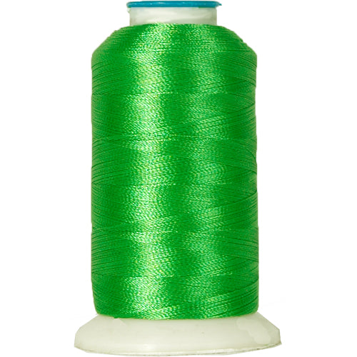 Polyester Embroidery Thread No. 204 - Emerald - 1000M - Threadart.com