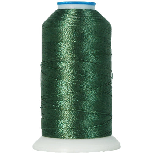 Polyester Embroidery Thread No. 213 - Holly Green - 1000M - Threadart.com