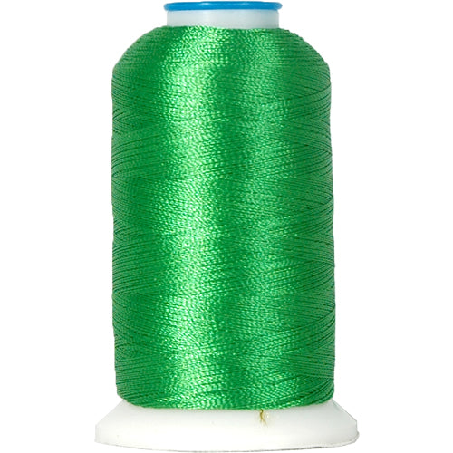 Rayon Thread No. 216 - Dk Emerald - 1000M - Threadart.com