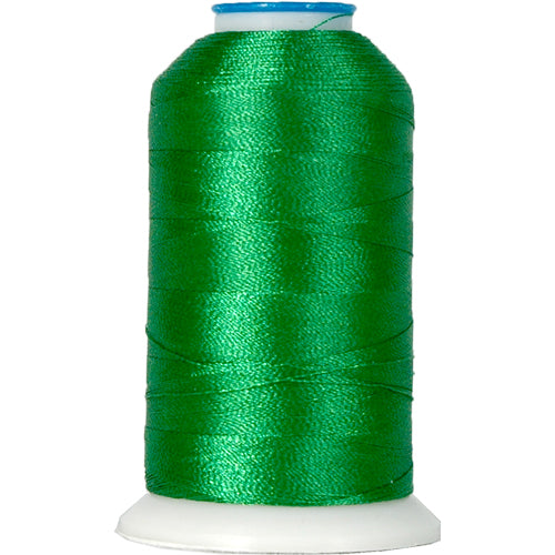 Polyester Embroidery Thread No. 217 - Green - 1000M - Threadart.com