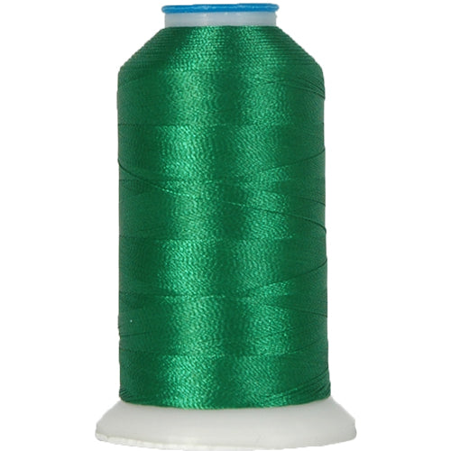 Rayon Thread No. 219 - Dk Grass Green - 1000M - Threadart.com