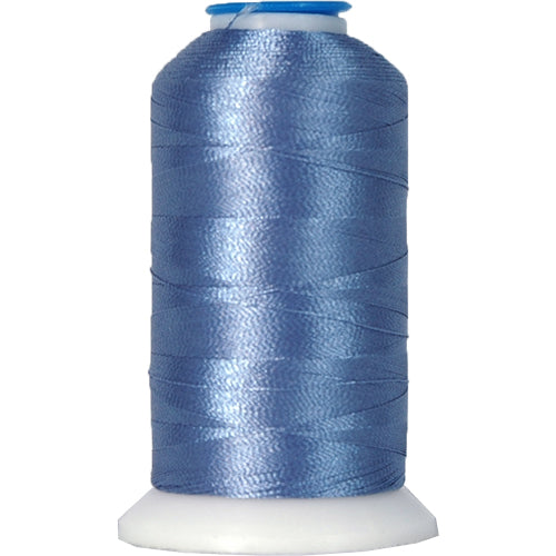 Polyester Embroidery Thread No. 241 - Oriental Blue - 1000M - Threadart.com