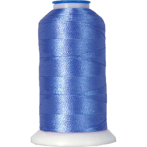 Polyester Embroidery Thread No. 246 - Country Blue - 1000M - Threadart.com