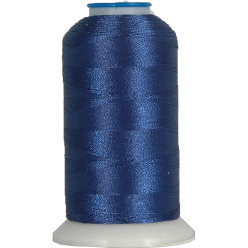 Polyester Embroidery Thread No. 250 - Blue - 1000M - Threadart.com