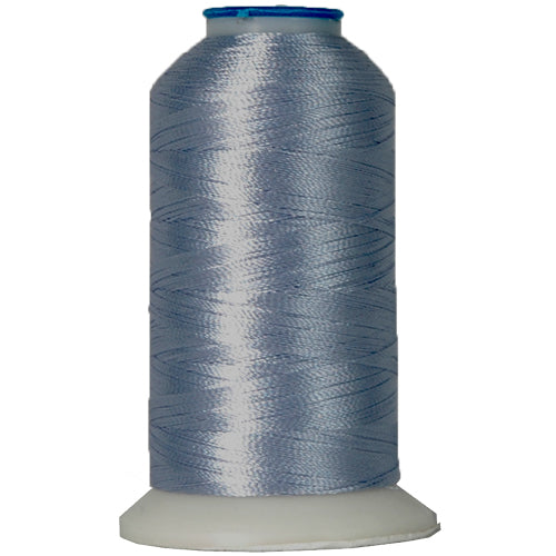 Polyester Embroidery Thread No. 277 - Christy Blue - 1000M - Threadart.com