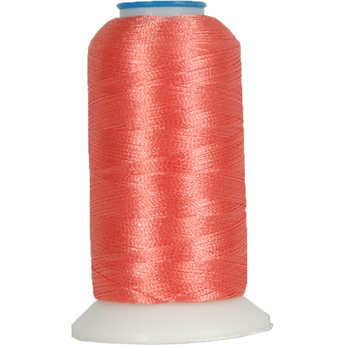 Polyester Embroidery Thread No. 289 - Dk Coral - 1000M - Threadart.com