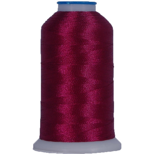 Polyester Embroidery Thread No. 296 - Med Burgundy - 1000M - Threadart.com