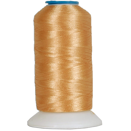 Polyester Embroidery Thread No. 306 - Lt Tan - 1000M - Threadart.com