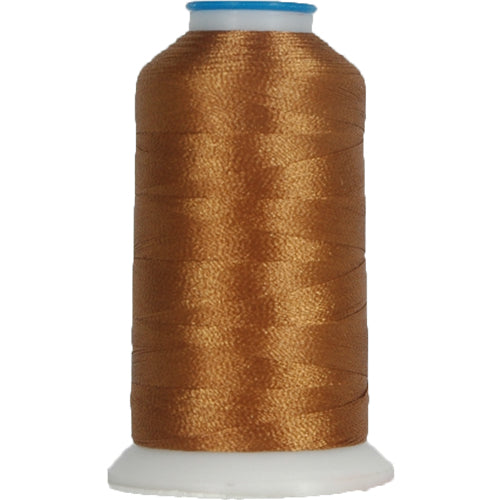 Polyester Embroidery Thread No. 312 - Lt Brown - 1000M - Threadart.com