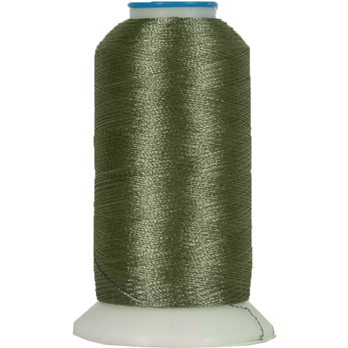Polyester Embroidery Thread No. 330 - Pewter - 1000M - Threadart.com