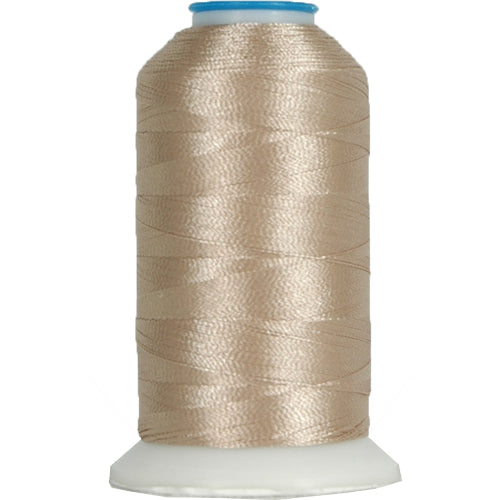 Polyester Embroidery Thread No. 332 - Platinum - 1000M - Threadart.com