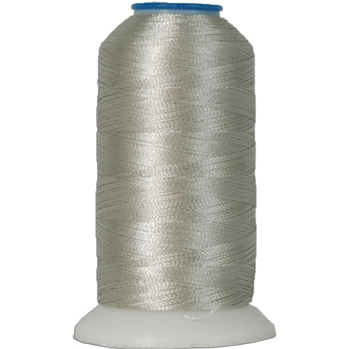 Polyester Embroidery Thread No. 349 - Pearl Grey - 1000M - Threadart.com