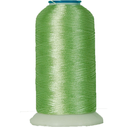 Rayon Thread No. 353 - Lt Grass Green - 1000M - Threadart.com