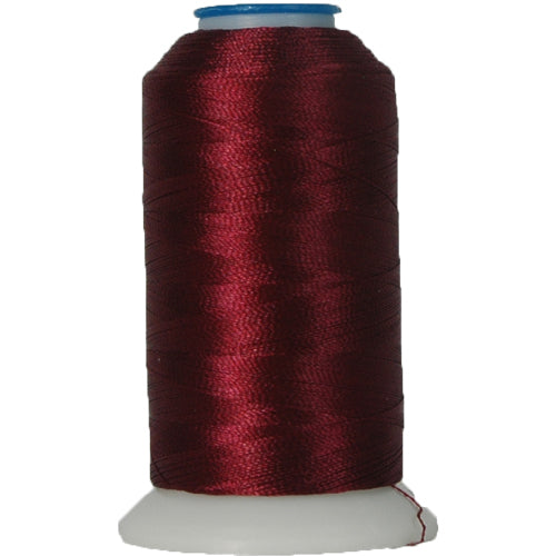 Rayon Thread No. 394 - Dk Maroon - 1000M - Threadart.com