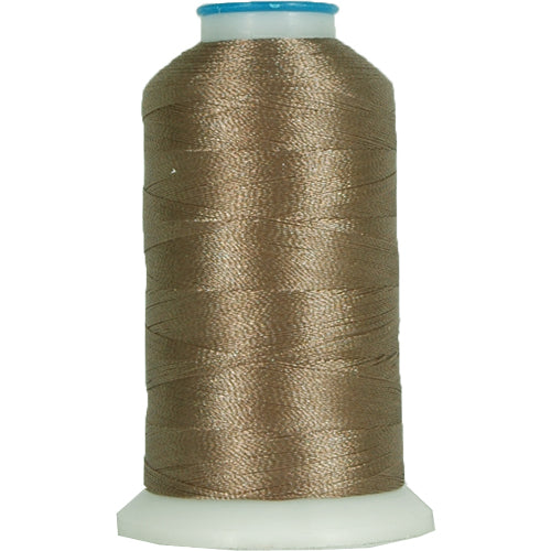 Polyester Embroidery Thread No. 398 - Grey Rod - 1000M - Threadart.com