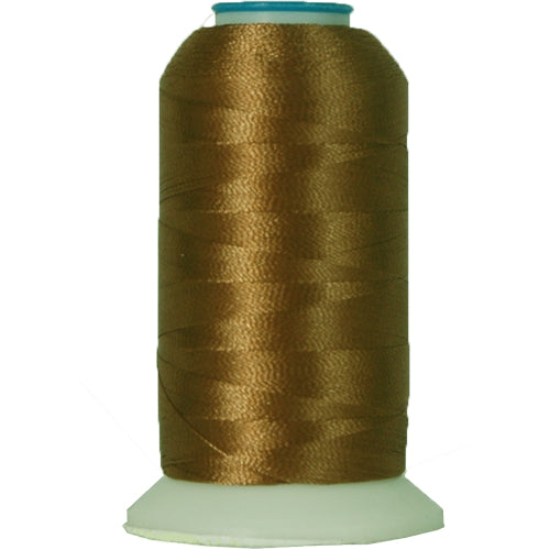 Polyester Embroidery Thread No. 404 - Fawn Brown - 1000M - Threadart.com