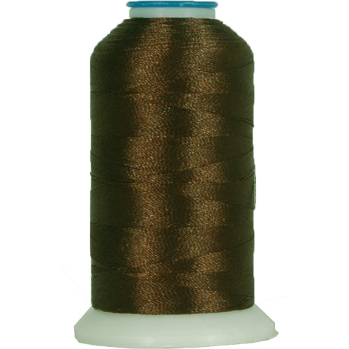 Polyester Embroidery Thread No. 405 - Chocolate - 1000M - Threadart.com