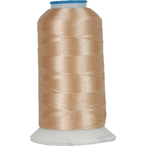 Polyester Embroidery Thread No. 406 - Bone - 1000M - Threadart.com
