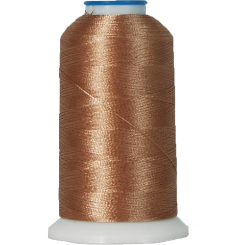 Polyester Embroidery Thread No. 407 - Rattan - 1000M - Threadart.com
