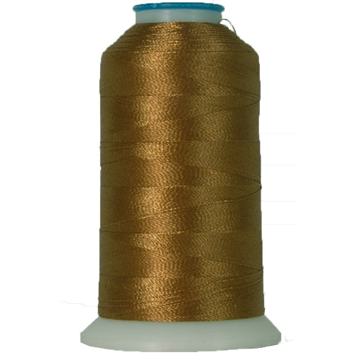 Polyester Embroidery Thread No. 408 - Med Tan - 1000M - Threadart.com