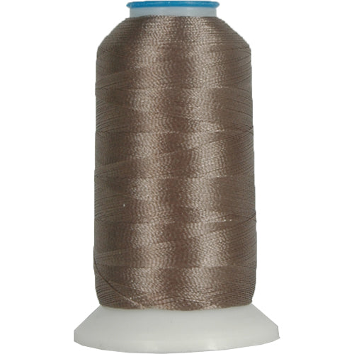 Rayon Thread No. 418 - Taupe - 1000M - Threadart.com