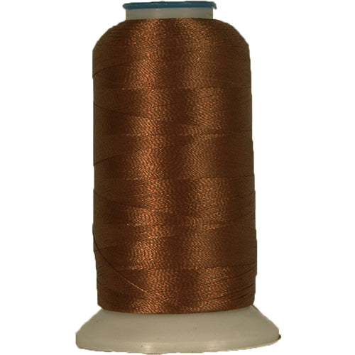 Rayon Thread No. 422 - Brown - 1000M - Threadart.com
